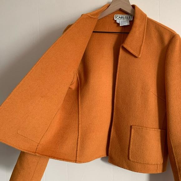 Oversized Carlisle Wool Blazer Vintage